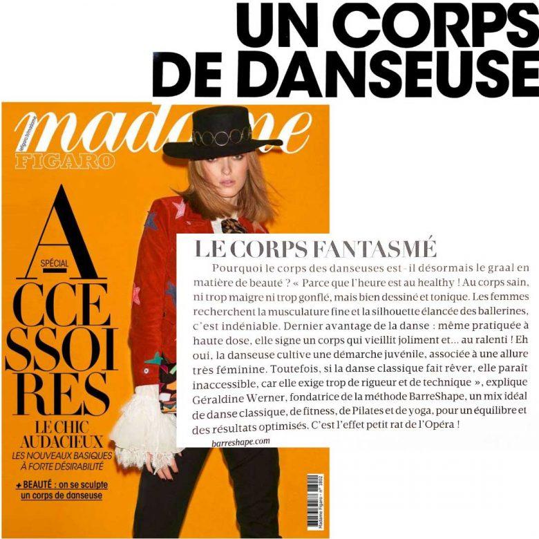 Presse BarreShape Madame Figaro