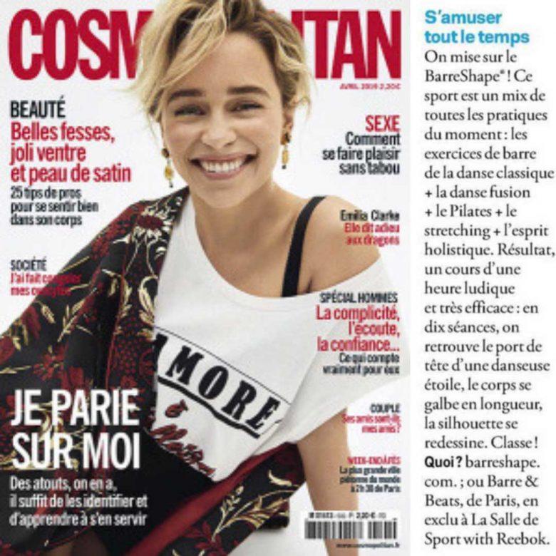 Cosmopolitain Presse BarreShape