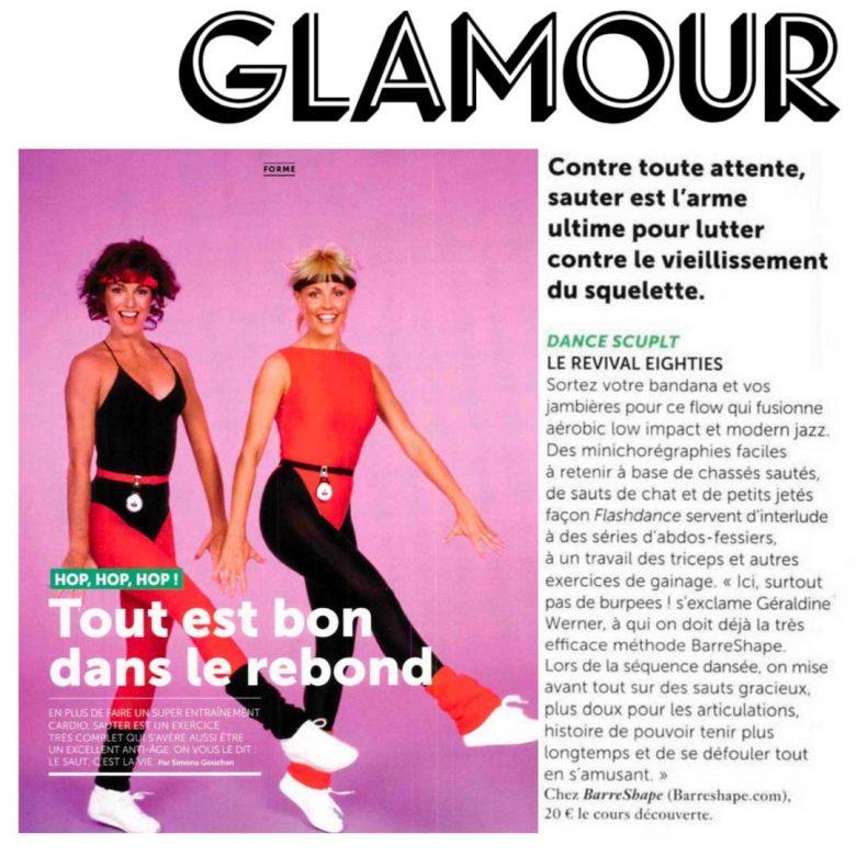 Presse Glamour BarreShape
